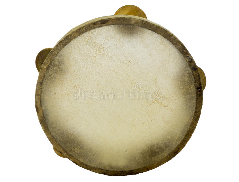 Traditional musical instument egyptian tambourine made of camel royalty free stock photo