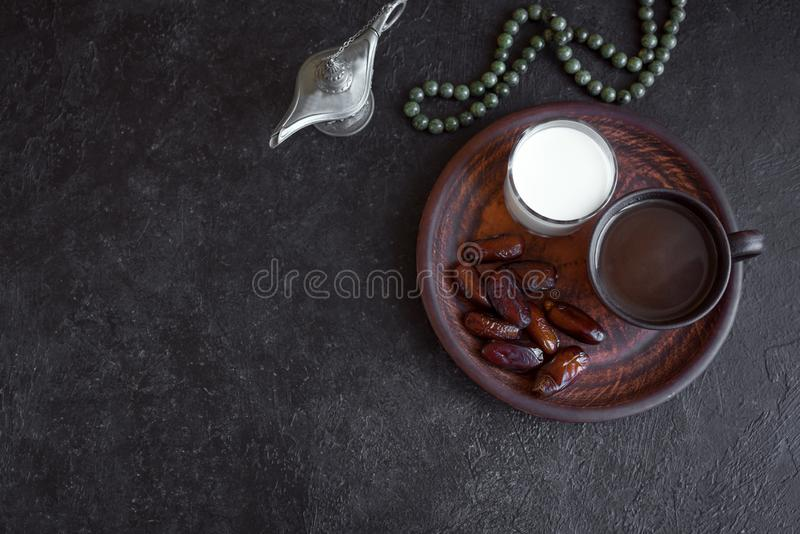 Muslim Iftar Food royalty free stock images