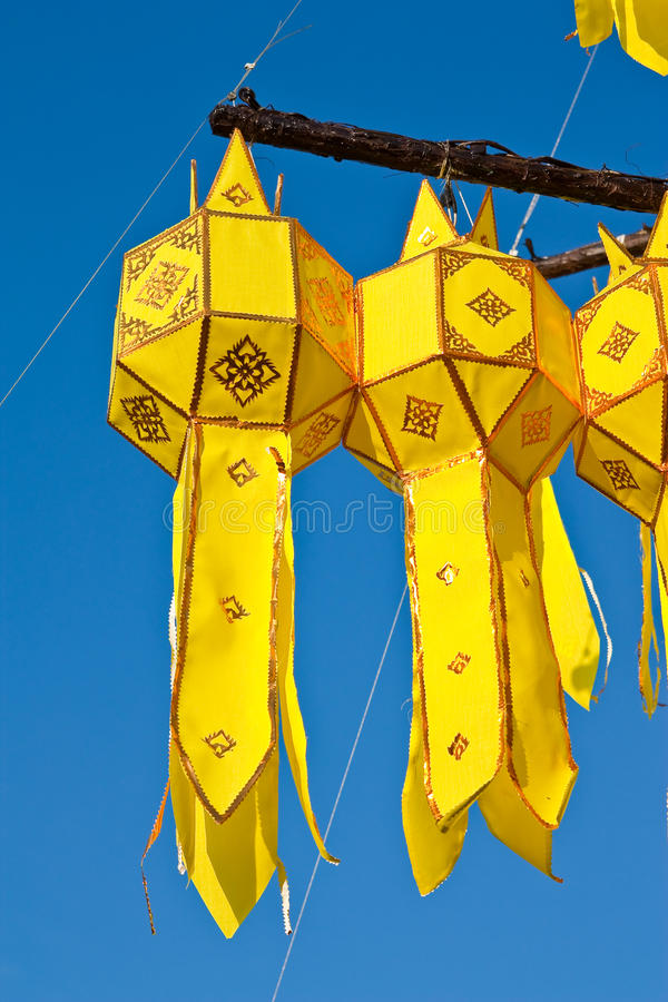 Download Traditional Northern Thai Style Paper Lamp Stock Photo - Image: 11897432