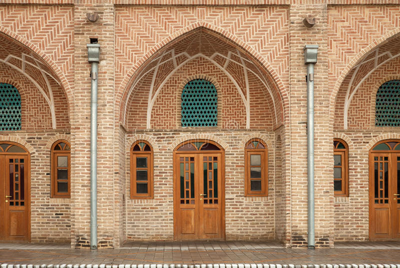 Download Traditional Old Caravansary With Brickwork Architecture Stock Photo - Image: 29675456