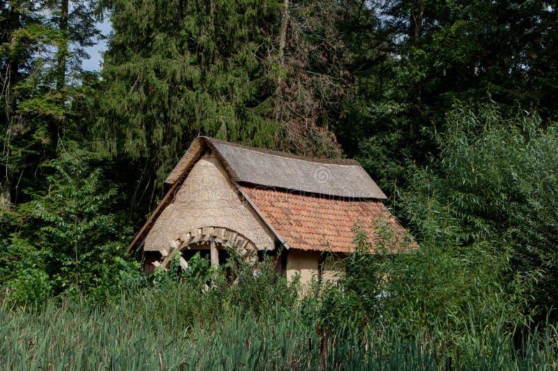 Traditional water mill, Bokrijk, Limbourg, Belgium royalty free stock photos