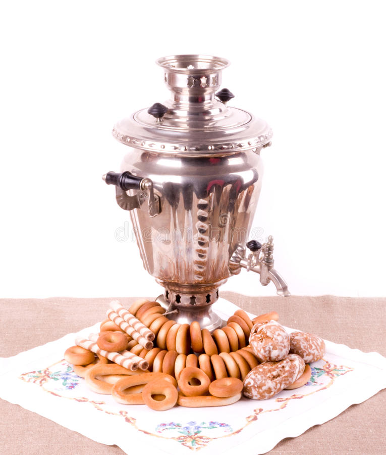 Download Traditional Old Russian Tea Kettle Stock Photo - Image: 26118946