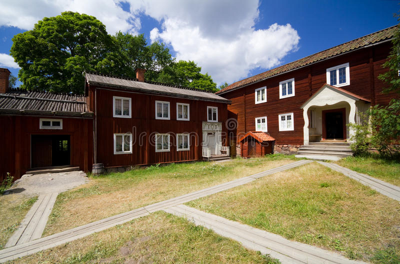 Download Traditional Old Swedish House Stock Photo - Image: 15173210