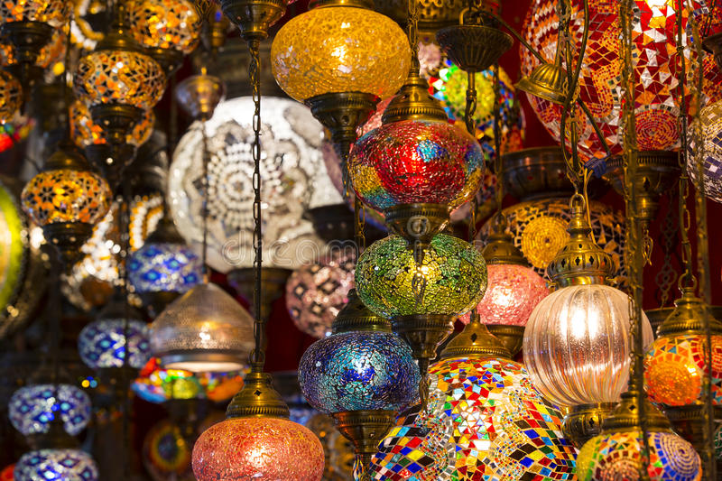 oriental lighting. Download Traditional Oriental Lights Stock Photo - Image Of Stall, Coloured: 73121232 Lighting