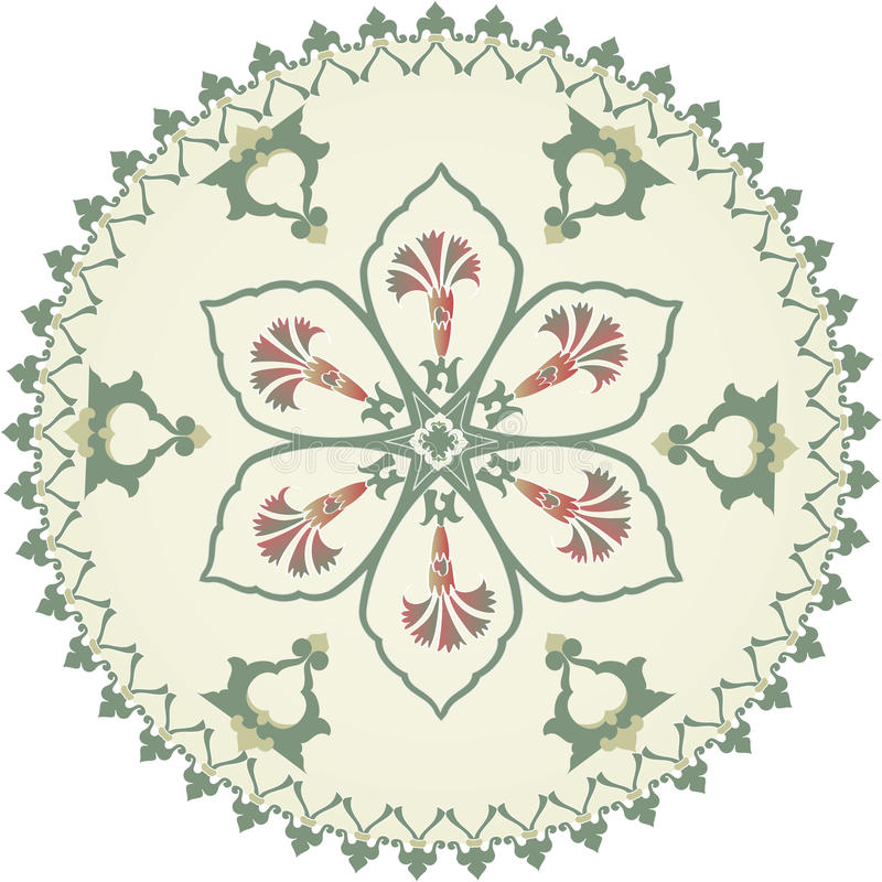 Download Traditional Ottoman Clean Design Stock Image - Image: 9848431