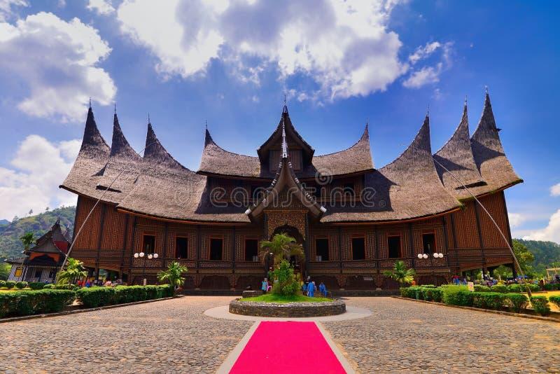 The Pagaruyung Palace West Sumatera stock photo