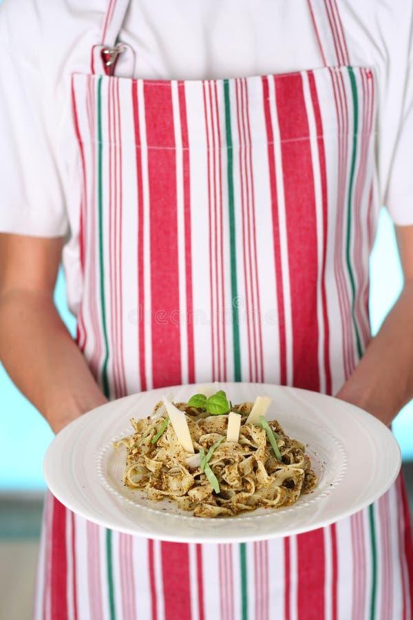 Traditional pasta stock photo