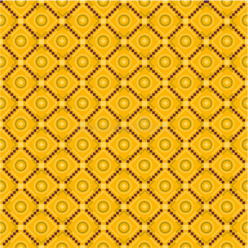Traditional Pattern Colorful Stock Photography
