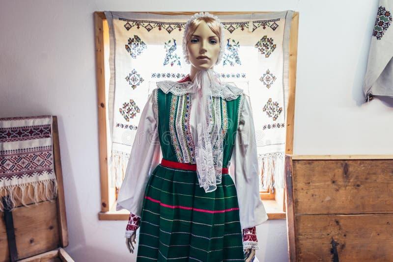 Polish folk costume royalty free stock images