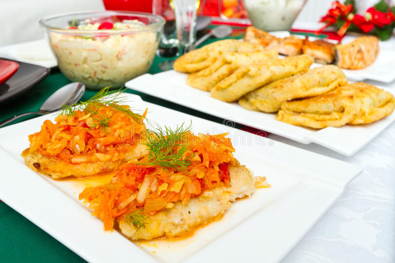 Download Traditional Polish Food For Christmas Eve Stock Image - Image: 28500977