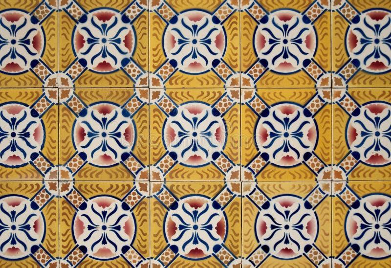Traditional Portuguese azulejos royalty free stock photos