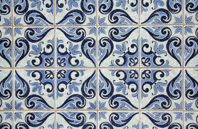 Traditional Portuguese azulejos royalty free stock images