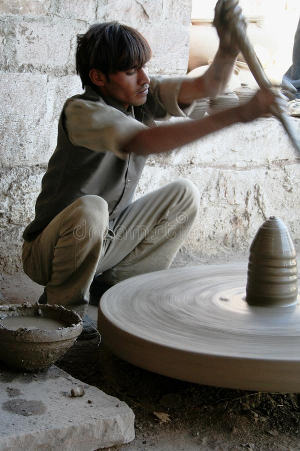 Traditional pottery stock photos