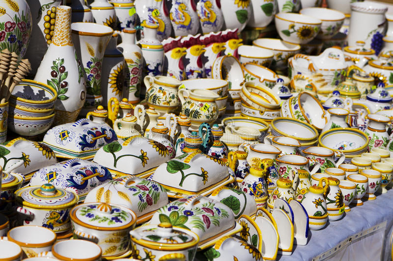 Download Traditional pottery stock image. Image of german, horn - 33495365