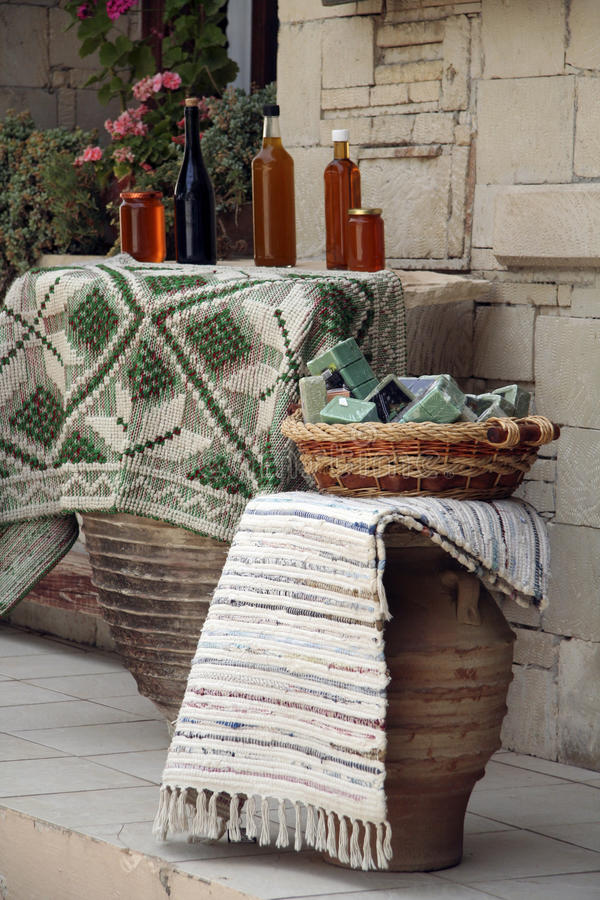 Download Traditional Products Shop In Crete Editorial Photo - Image: 42893076