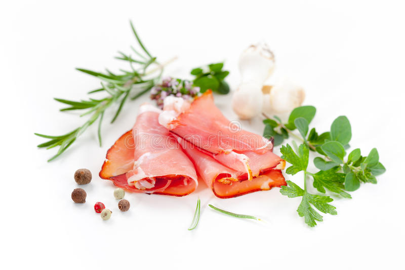 Traditional Prosciutto Royalty Free Stock Image