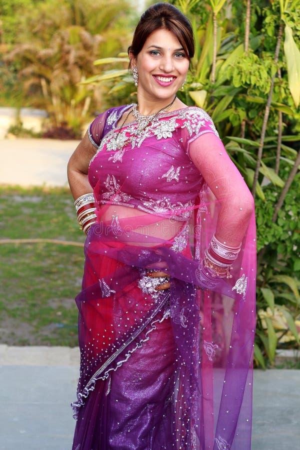 Traditional punjabi girl royalty free stock images