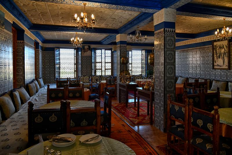 Download Authentic Arabic Restaurant Morocco Editorial Photo