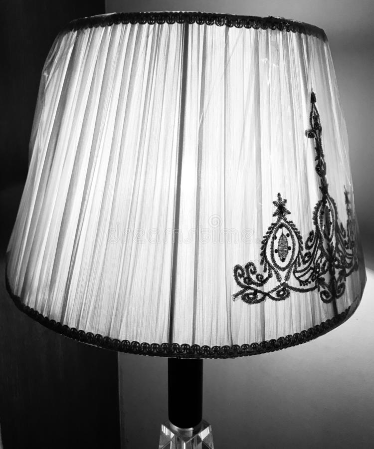Traditional round shape lamp shades. With black textures unique stock photo royalty free stock photos