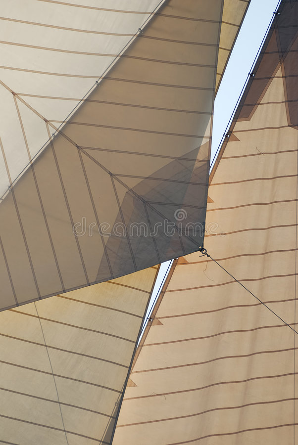 Traditional Sails Stock Photography