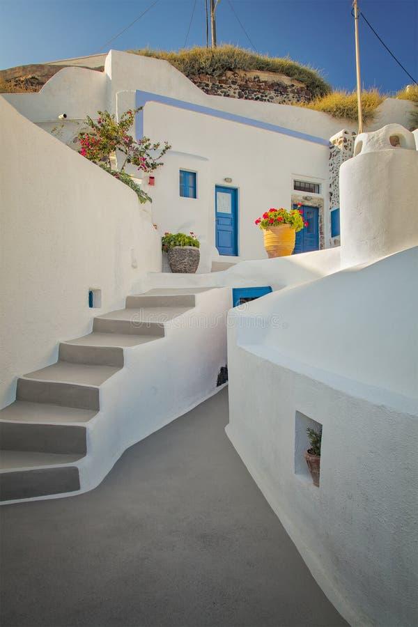 Traditional santorini home royalty free stock image