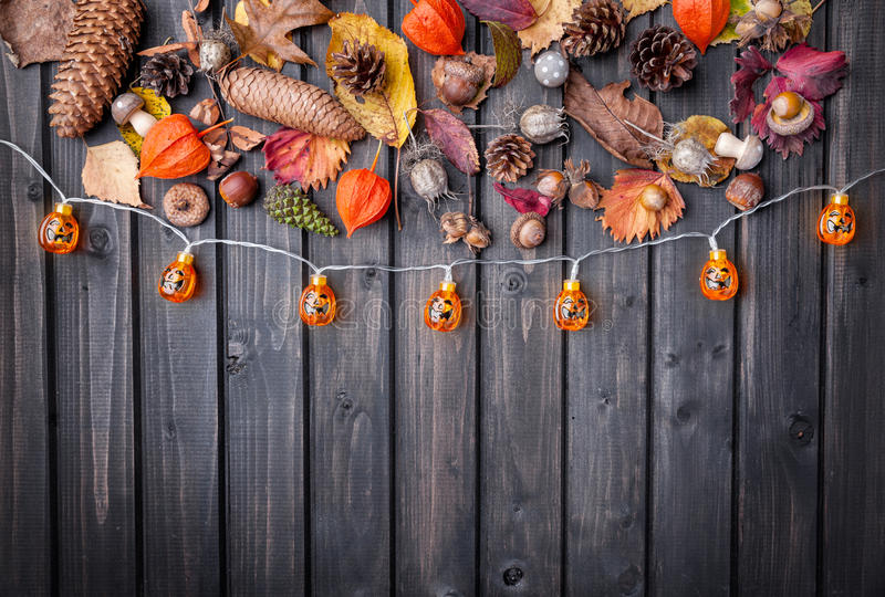 Traditional scary halloween holiday background. Traditional, spooky and scary halloween holiday background royalty free stock photo