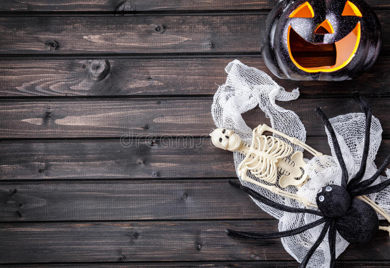 Traditional scary halloween holiday background. Traditional, spooky and scary halloween holiday background stock photography