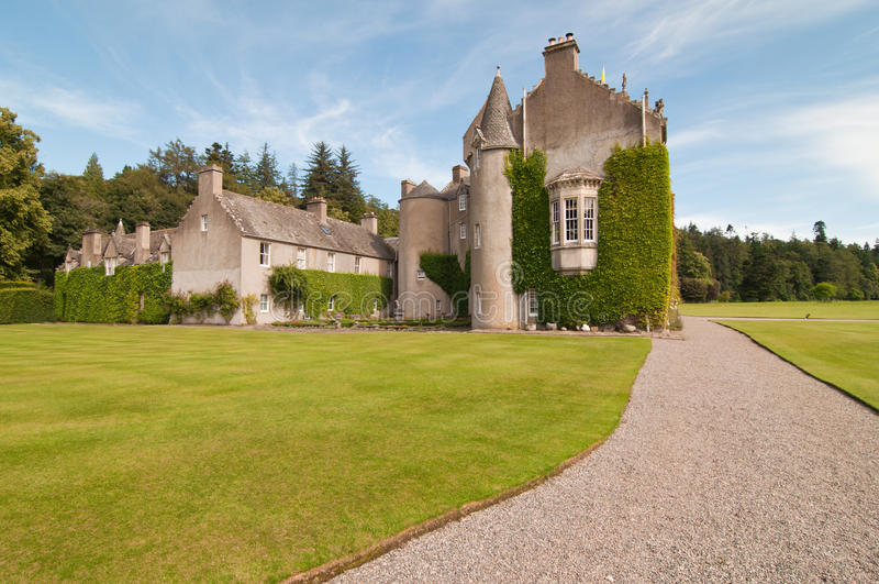 Traditional Scottish castle royalty free stock photos