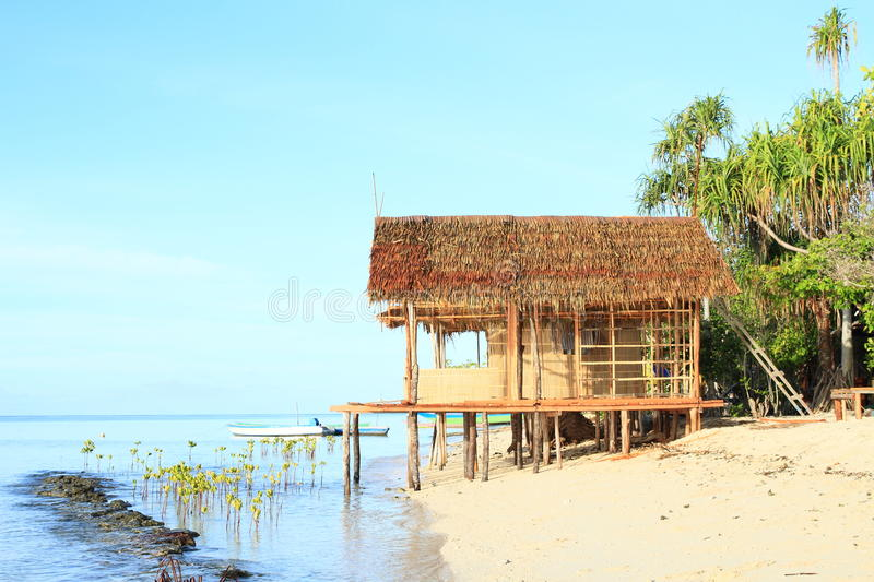 Traditional shack stock photo