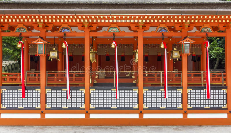 Download Traditional Shinto Architecture And Stone Lanterns At Fushimi In Editorial Stock Photo - Image: 39876718