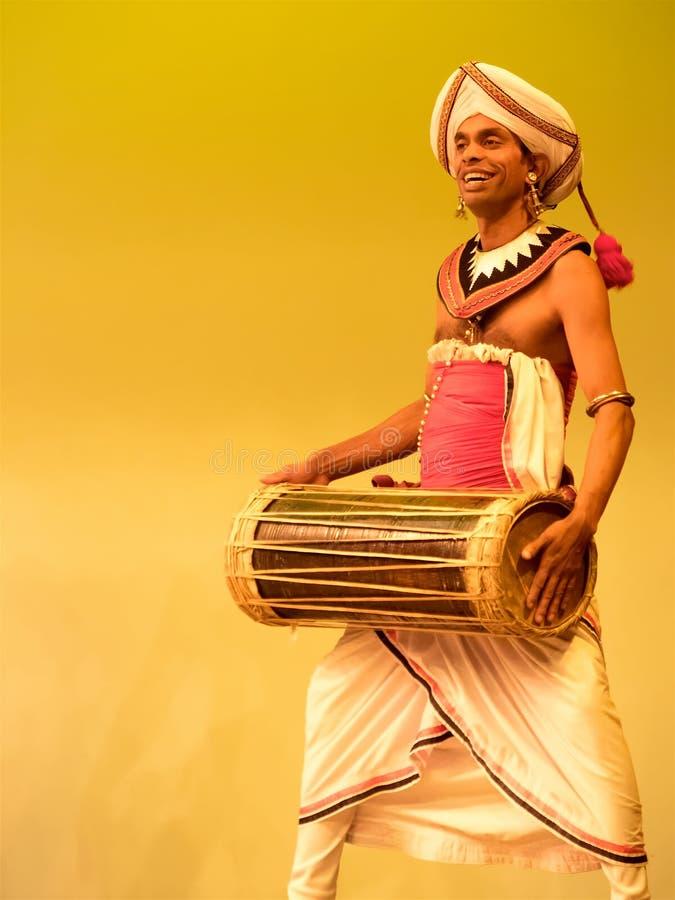 Traditional show in Sri Lanka stock image