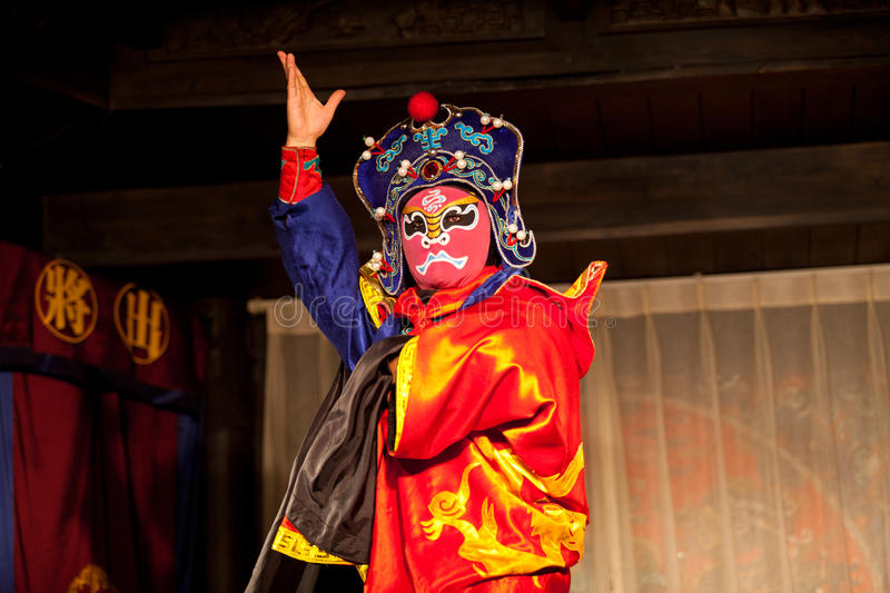 Traditional Sichuan Chinese Opera stock photos