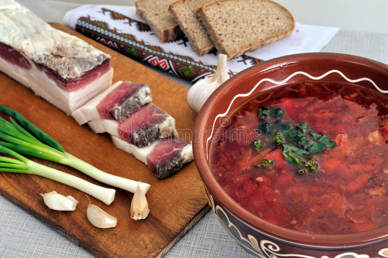 Download Traditional Simple Ukrainian Food Stock Photo - Image: 33520572