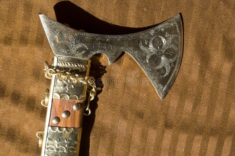 Traditional slovak sax stock image