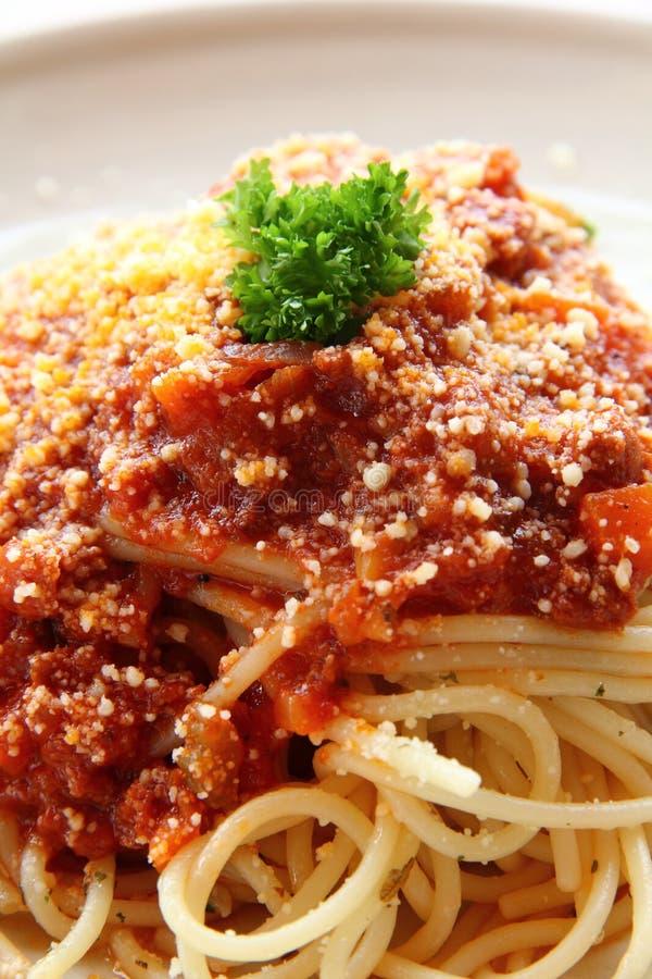 Traditional Spaghetti Royalty Free Stock Photos