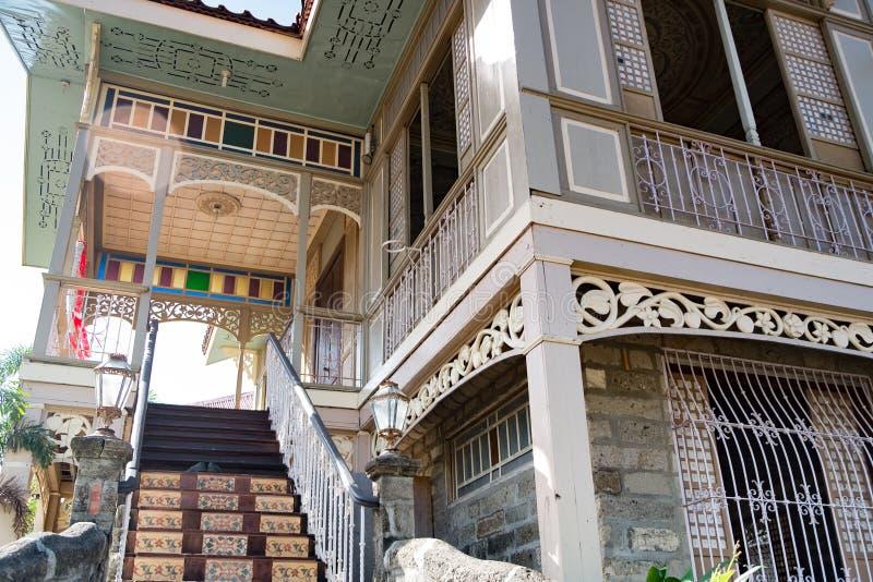 Download Traditional Spanish House Las Casas Filipinas De Acuzar Philippines Editorial Stock Image