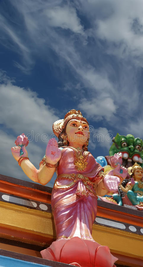 Download Traditional Statues Of Gods And Goddesses Stock Image - Image: 21392147