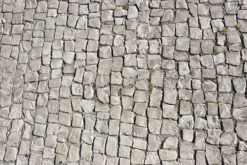 Traditional Stone-Paved Stock Photography