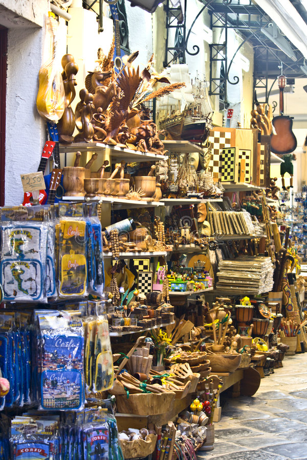 Download Traditional Stores In Greece Royalty Free Stock Images - Image: 8722839