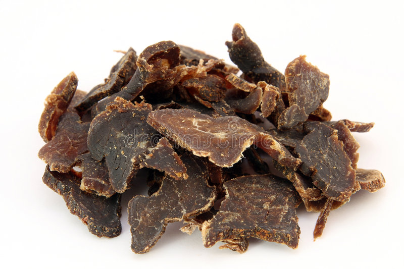 Download Traditional Sun Dried South African Beef Biltong Meat Stock Photo - Image: 920500