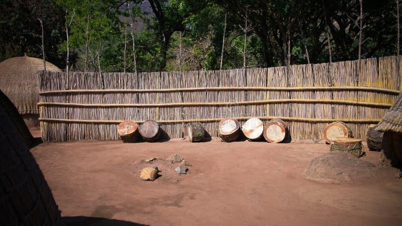 Traditional swati drum at the village near Manzini, Mbabane at Eswatini, former Swaziland. Traditional swati drum at the village near Manzini, Mbabane , Eswatini royalty free stock photography