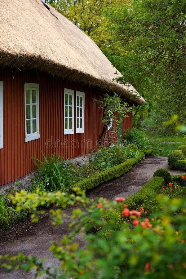 Download Traditional Swedish House In Skansen. Stock Image - Image: 14983885