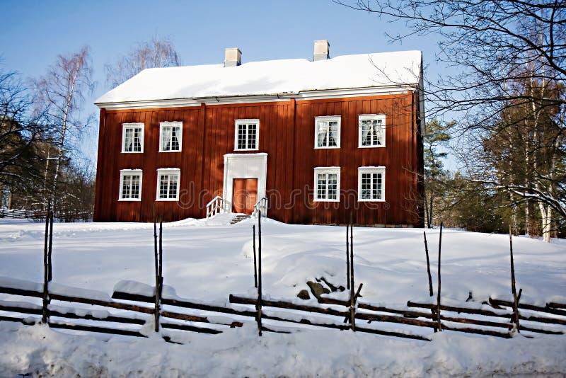 Download Traditional Swedish House In Skansen, Stockholm Stock Image - Image: 13058709