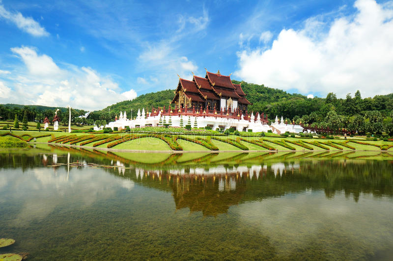 Download Traditional Thai Architecture Lanna Style Stock Photo - Image: 26838648