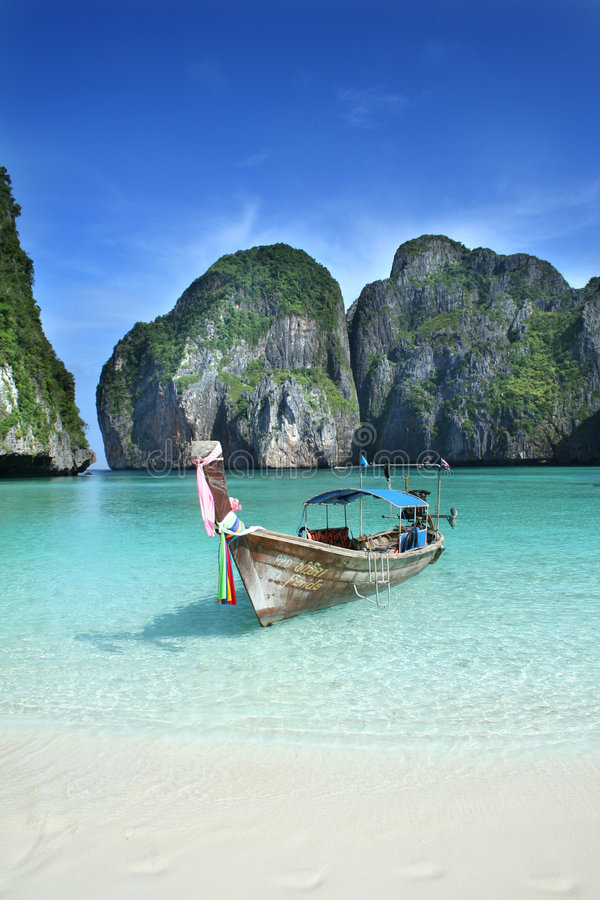 Download Traditional thai boat stock image. Image of asia, travel - 1415003