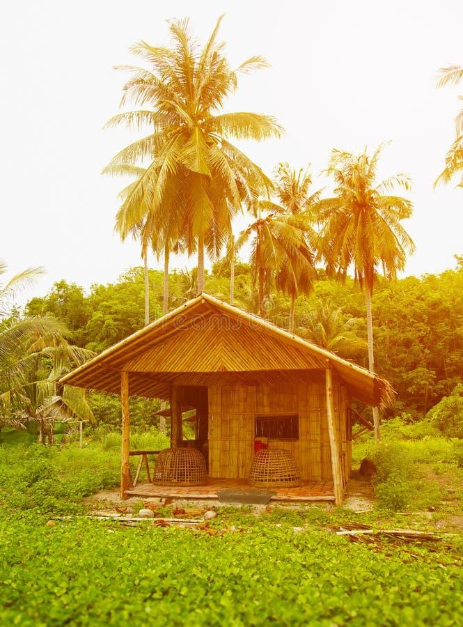 Traditional Thai bungalow stock photos