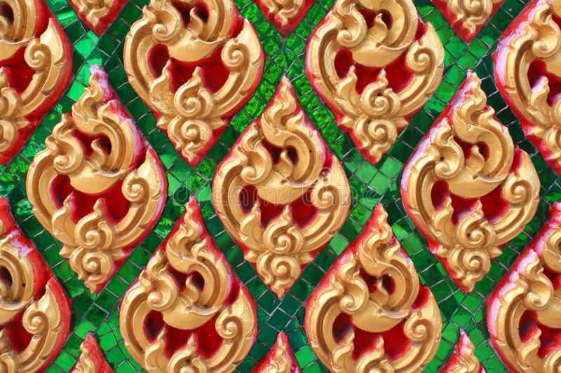Download Traditional Thai Style Art Pattern Stock Image - Image of image, stone: 15055163