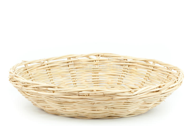 Traditional Thai style basket stock photo