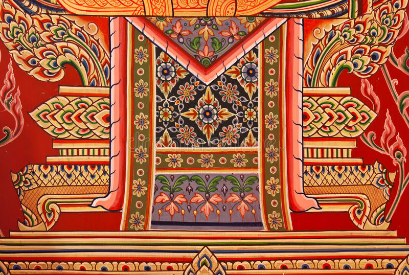 Download Traditional Thai Style Painting Art Stock Image - Image: 37852641