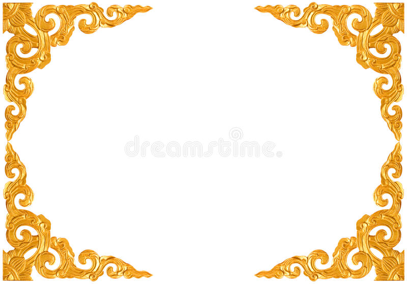 Traditional Thai style pattern decorative royalty free stock photography